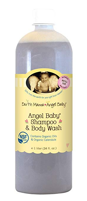 Earth Mama Angel Baby Wash Body & Shmpoo Ange