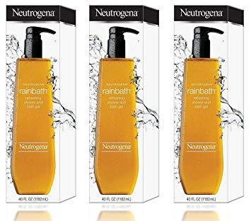 Neutrogena Rainbath Refreshing Shower and Bath Gel- 40 Oz THREE PACK 120 Oz Total by Neutrogena BEAUTY